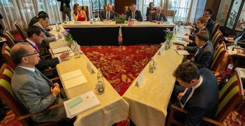 U.S.-Australia-Japan Trilateral Strategic Dialogue with Australian Foreign Minister Marise Payne, Japanese Foreign Minister Taro Kono, and US Secretary of State Mike Pompeo in Bangkok, Thailand on August 1, 2019 Source: U.S. Department of State, https://bit.ly/2SNRYMq