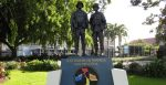 The Australian Vietnamese War Memorial in the Roma Street Parklands in Brisbane. Source: Nick-D https://bit.ly/3eUFUTT