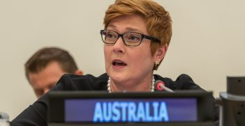 Senator The Hon Marise Payne, Minister of Foreign Affairs of Australia. Source: The Official CTBTO Photostream https://bit.ly/366GyuX
