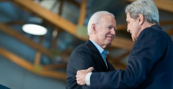 Joe Biden Ushers Ferry Historic Village with Secretary John Kerry. Source: Joe Biden https://bit.ly/3m8Sm5d