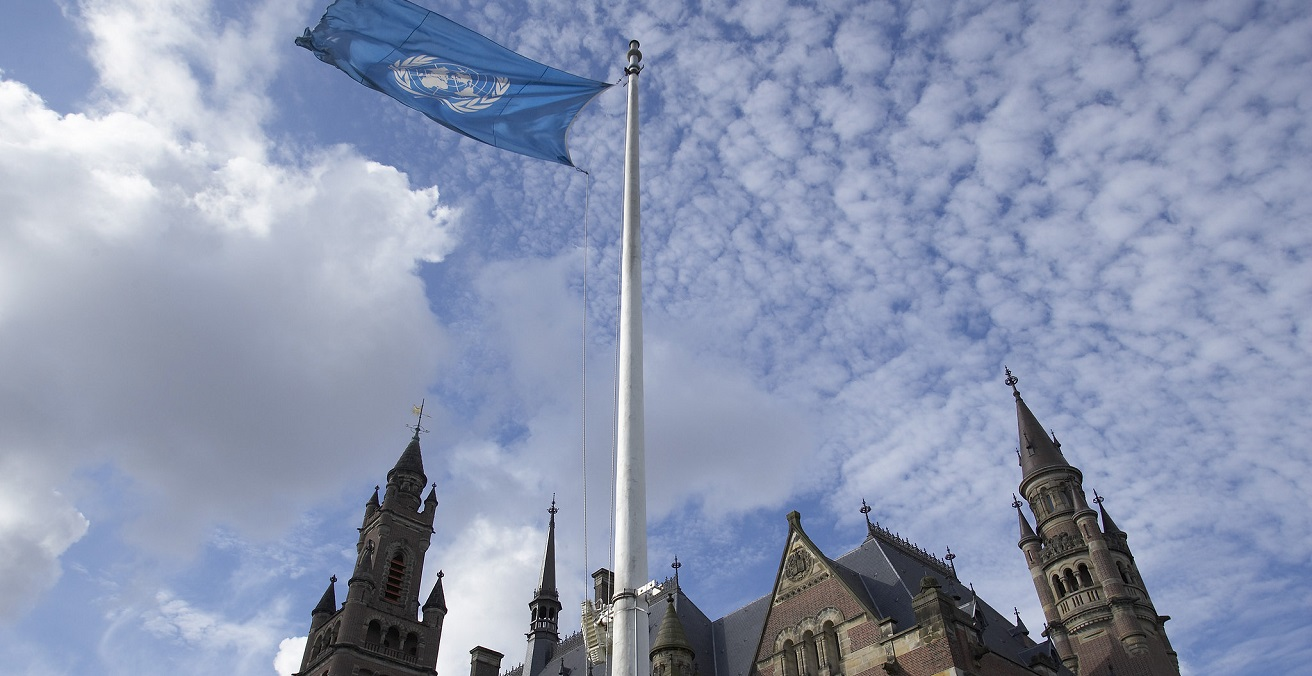 The Peace Palace in The Hague (Netherlands), seat of the International Court of Justice. Source: Netherlands UN https://bit.ly/3ahdTpp