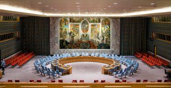 UN Security Council & UN Security Guard. Source: Russ Allison Loar https://bit.ly/2VPvexb
