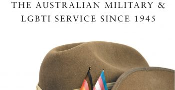 Pride in Defence book cover. MUP https://bit.ly/341KUSC