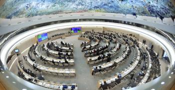 Human Rights Council, Geneva. Source: GPA Photo Archive https://bit.ly/3iSgAA6