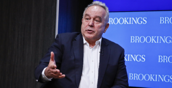 Kurt Campbell discusses the U.S.-China-India relationship on a foreign policy panel at Brookings. Source: Brookings Institution https://bit.ly/3peVRJ1