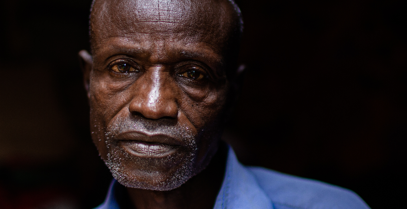 Picture of Ahmed, who was separated from his family as a result of the conflict in Nigeria. Source: ICRC
