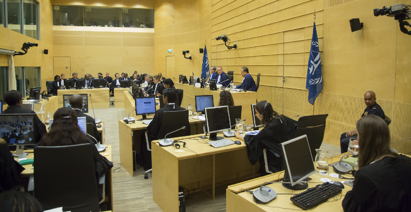 Bemba, Kilolo et al. trial opens at International Criminal Court. Source: International Criminal Court https://bit.ly/2LQdyQC