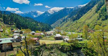 View From Sharda Fort, Jammu & Kashmir. Source: Umar Jamshaid https://bit.ly/3puMN1Z