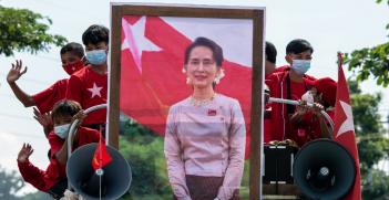 Aung San Suu Kyi. Source: sadi richards https://bit.ly/3tzrbol
