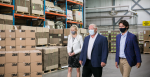 Ontario Partners with Federal Government and 3M Canada on New N95 Respirator Manufacturing Facility. Source: Premier of Ontario Photography https://bit.ly/3ctPZrW