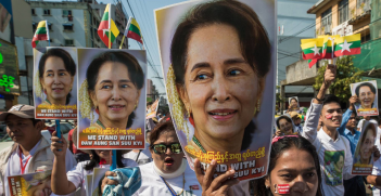 Myanmar military takes power for one year as Aung San Suu Kyi is detained. Source: sadi richards https://bit.ly/3q2AnzB