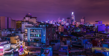 Vietnam's capital city, Saigon. Source:  Craig Hamnett https://bit.ly/3oNUdgg