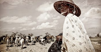 A farmer in Mali. Photo supplied by the ICRC.