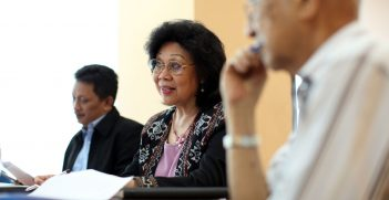 Ibu Nafsiah - a tireless campaigner on HIV issues in Indonesia and Secretary of Indonesia's National AIDS Commission, which is supported by Australia. Source: Department of Foreign Affairs and Trade https://bit.ly/3rin8KU