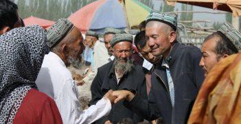 Kashgar Livestock Market. Photo supplied by Anna Hayes.