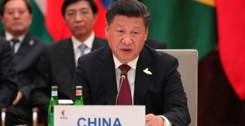 President Xi Jinping in 2017, photography courtesy of Press service of the President of the Russian Federation, shorturl.at/dptH2