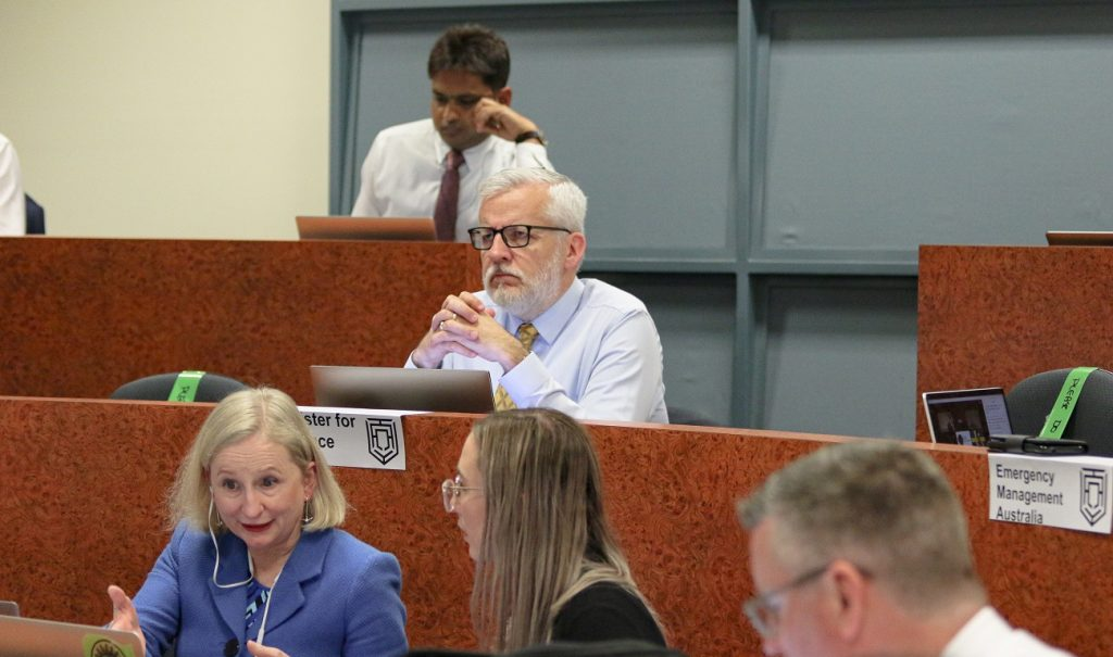 Australian Crisis Simulation Summit 2020. Photo supplied by the ACSS
