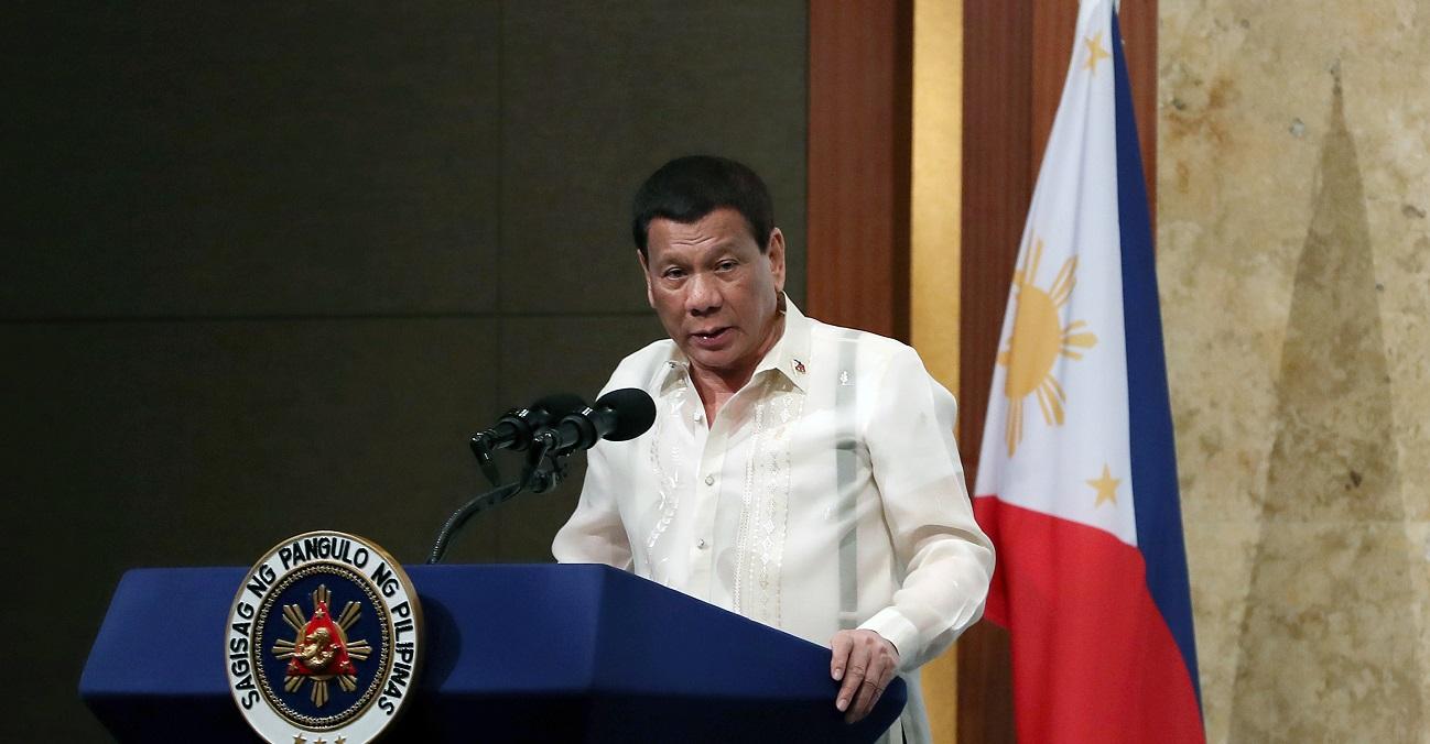 Rodrigo Duterte Philippines President attends a business forum. Source: Republic of Korea, https://bit.ly/3rFInGL
