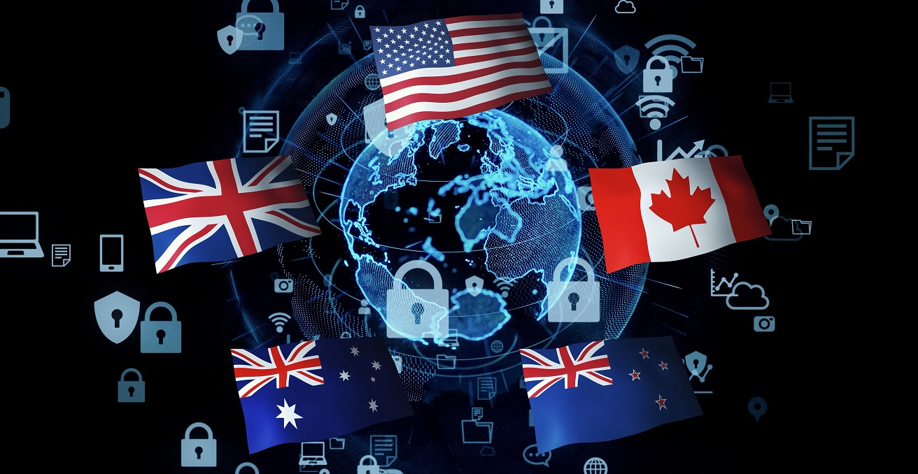 Conceptualisation of the Five Eyes. Source: metamorworks/Shutterstock.