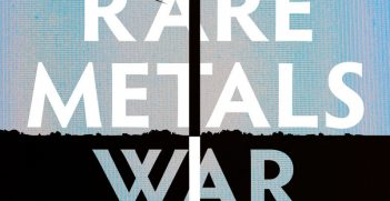 Book cover: The Rare Metals War by Guillaume Pitron.