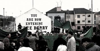 Free Derry Bloody Sunday Memorial March, author is kitestramuort sourced from shorturl.at/ekzS3
