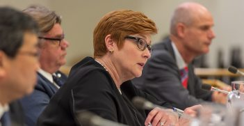 Australian Foreign Affairs Minister Marise Payne, photo from The Official CTBTO Photostream, shorturl.at/binH0