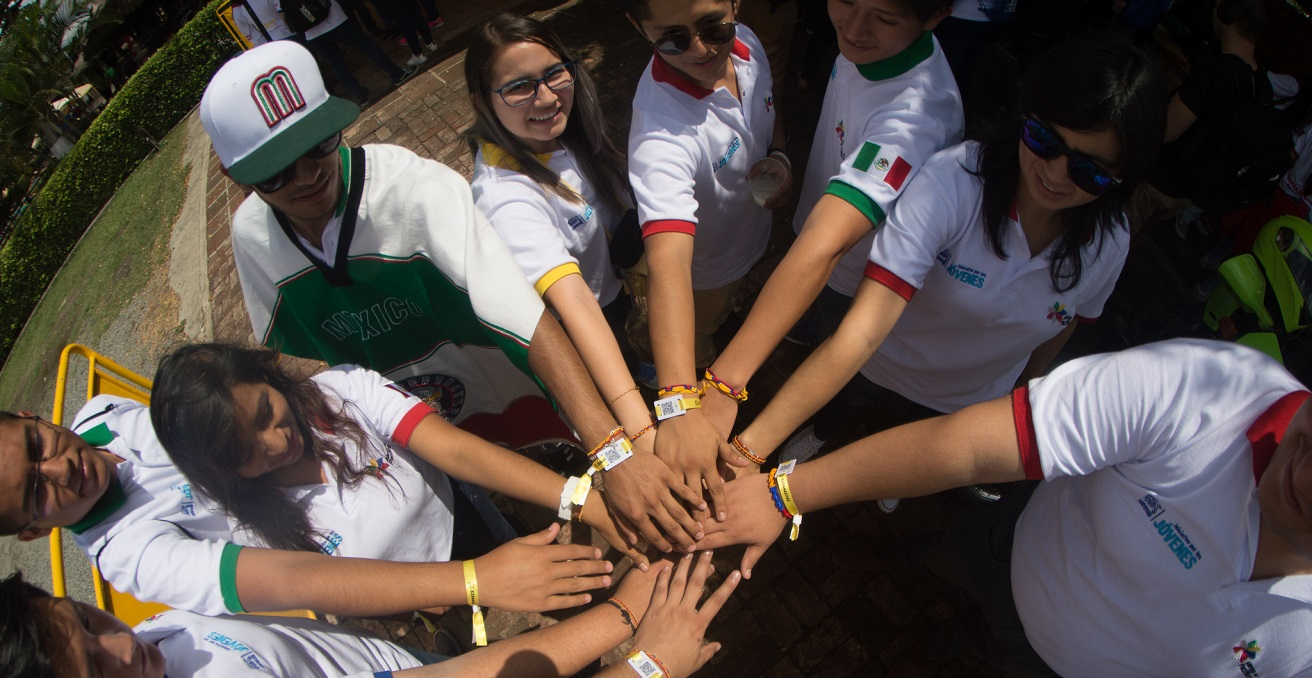 Young participants at the Pacific Alliance Youth Summit in Cali, Colombia in 2018. Source: Nestlé https://bit.ly/3jrVBq7
