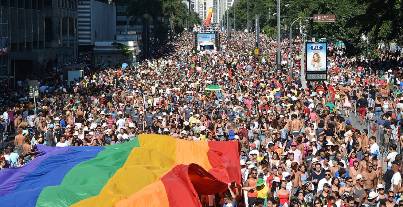 LGBTIQ Pride Parade in June, photography Ben Tavener, sourced from Wikimedia Commons, https://bit.ly/3v1aCBo
