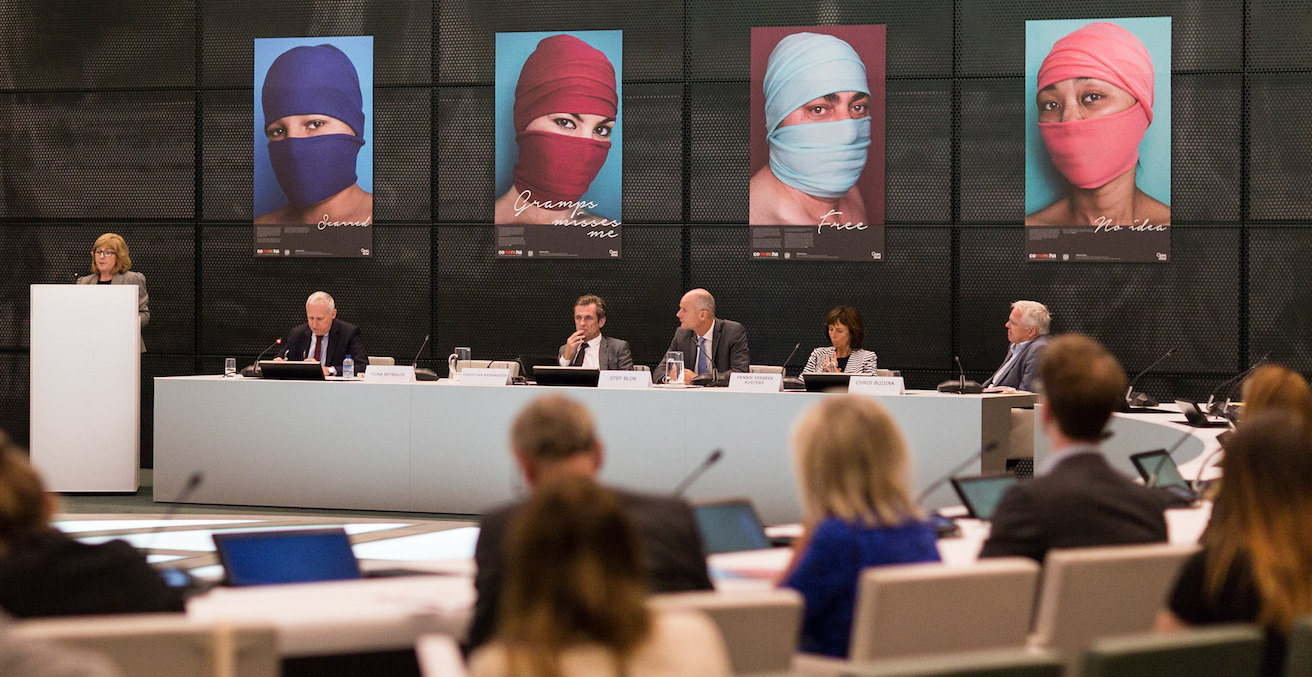 2019 Conference against slavery and human trafficking, photographer Ministerie van Buitenlandse Zaken, sourced from flickr https://bit.ly/3xMRGb7
