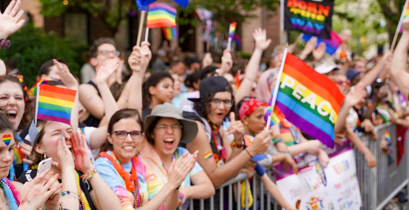 Pride Parade in June 2019, photographer Ted Eytan, sourced from Flickr https://bit.ly/3w49y0H
