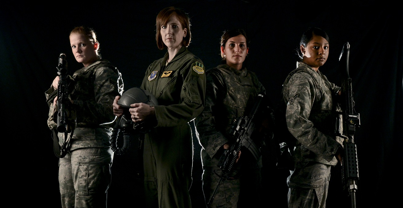 The ban on women in combat was lifted Jan. 23, 2013. Though 99 percent of the careers offered in the Air Force were open to women, the decision opened more than 230,000 jobs across all branches of the military. (U.S. Air Force illustration/Senior Airman Micaiah Anthony/Released)