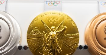 Tokyo 2021 Olympics medals. Source: yu_photo/Shutterstock.