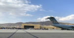 The United States Air Force at Hamid Karzai International Airport during evacuations