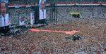 Joko Widodo/Jokowi give a speech in his final rally of presidential election in 2019. Source:  kitingfield/Shutterstock.