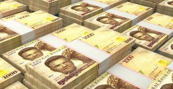 Nigerian naira bills. Source: Maksym Kapliuk/Shutterstock
